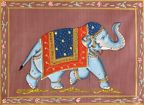 Decorated Elephants by Decorated Elephant