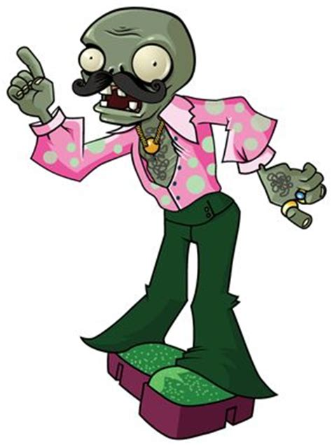 disco zombie coloring page plants vs zombies video game wall graphics backup disco