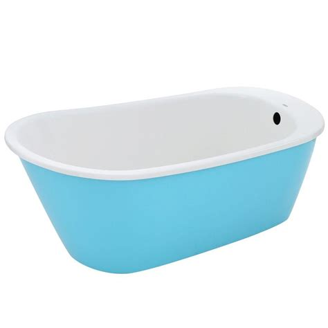 maax sax freestanding reversible drain bathtub