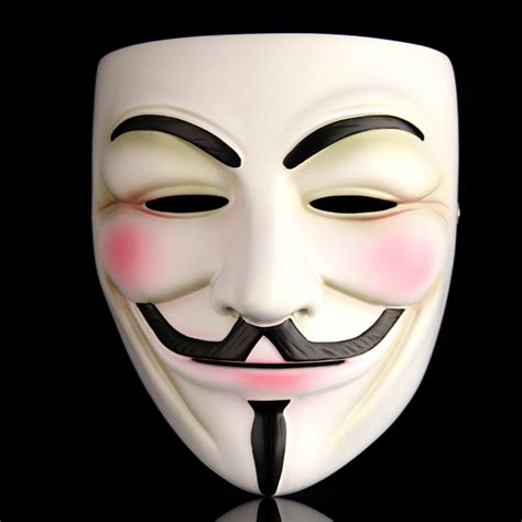 Masker V Shape masquerade maskshalloween decoration mask play