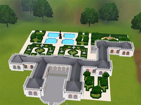 Create A Room Floor Plan mod the sims le grand trianon retreat of kingly proportions
