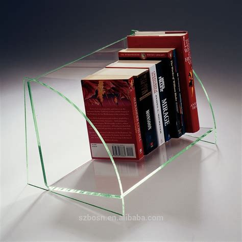 creative acrylic magazine holder lucite magazine rack