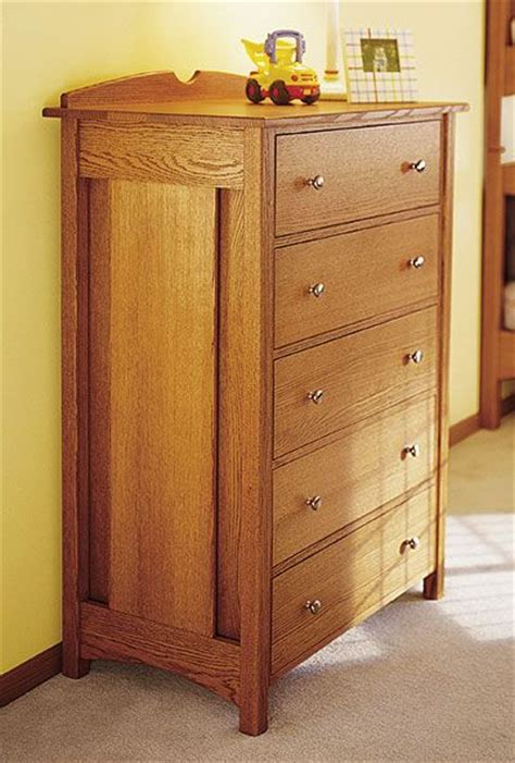 dresser plans chest  drawers plans images