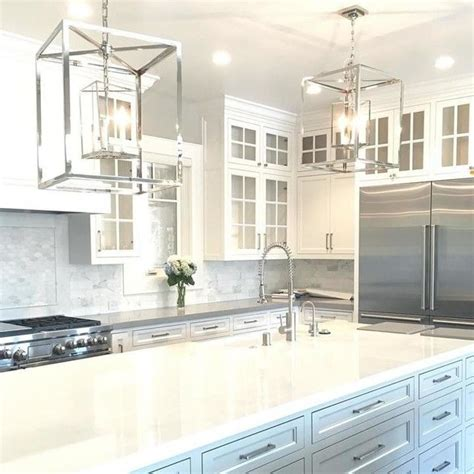 lighting over kitchen island circa lighting osborne lantern pair over kitchen island