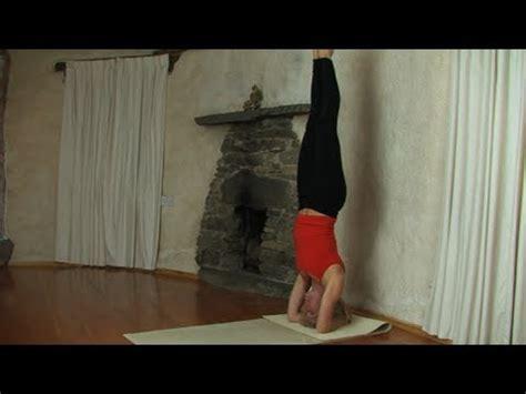 yoga headstand tutorial headstand tutorial yoga youtube