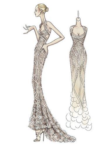 fashion illustration nasil yapilir versace 199 izimleri gece elbiseleri abiye elbise gelinlik modelleri gece kıyafetleri