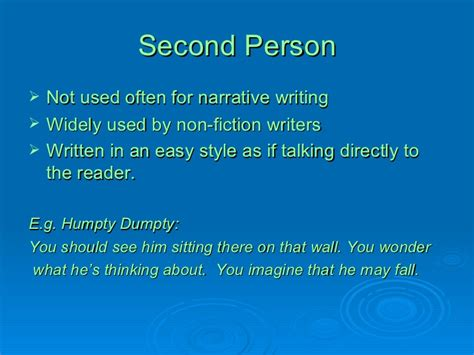 second person essay second person essay third person essay examples