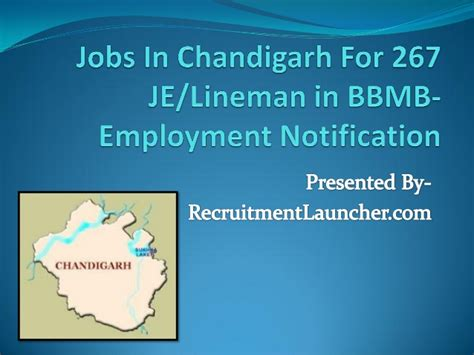 bbmb recuruitment 2015 advt for 267 vacancies bbmb jobs in chandigarh for 267 je lineman in bbmb employment