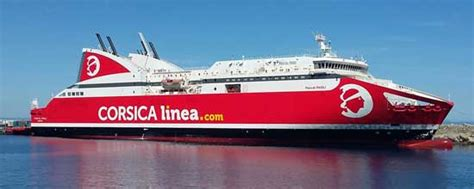 Corsica Linea PROMOTIONS billet bateau Corsica Linea Corse Algerie Tunisie Sardaigne