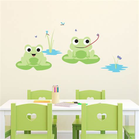 frog wall stickers frog wall decals 2017 grasscloth wallpaper