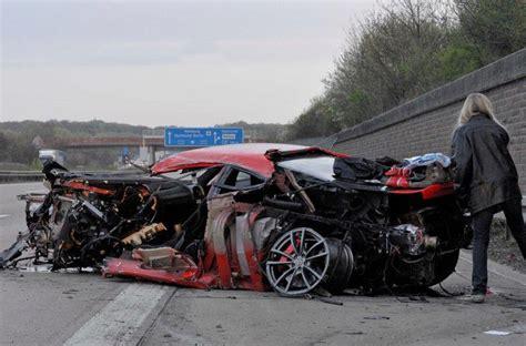 Ferrari 300 Km H by This Is A Ferrari 430 Scuderia After A 300 Km H Crash