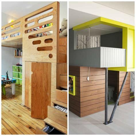Incroyable Amenagement Chambre Pour Deux Garcons #1: amenagement-chambre-enfant-lits-superposés-bois-garçons.jpg