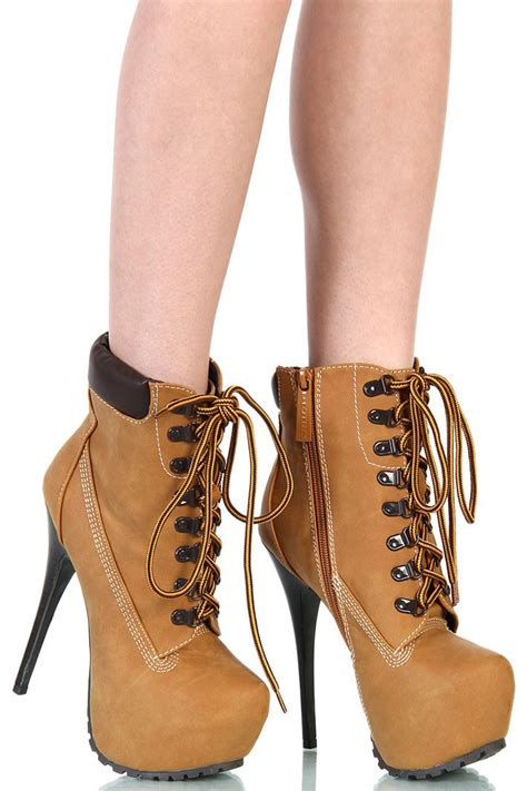 timberlands high heel boots timberland heels shop for timberland heels on wheretoget