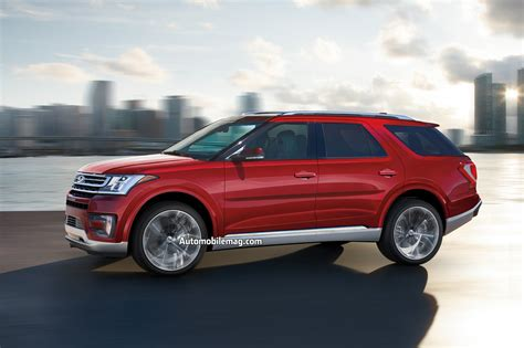 2019 Ford Explorer by New And Future For 2018 And Beyond Automobile Magazine