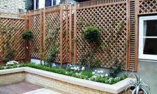 natural classic bespoke trellis panels wooden fence
