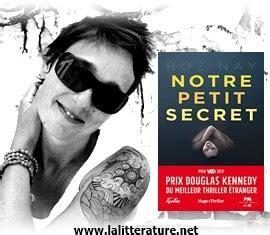 notre petit secret 9782755633412 notre petit secret de roz nay litt 233 rature actualit 233 et avis