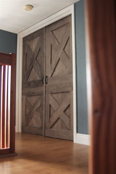Handmade Interior Doors - custom built wooden barn doors listing for m76