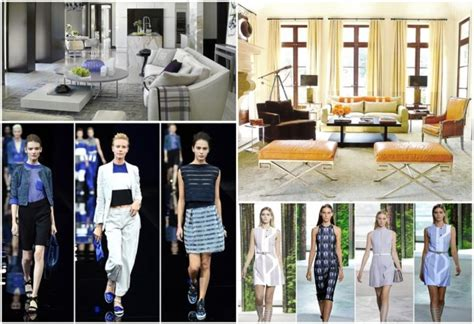 fashion and interior design from the runway to your home the best fashion designers