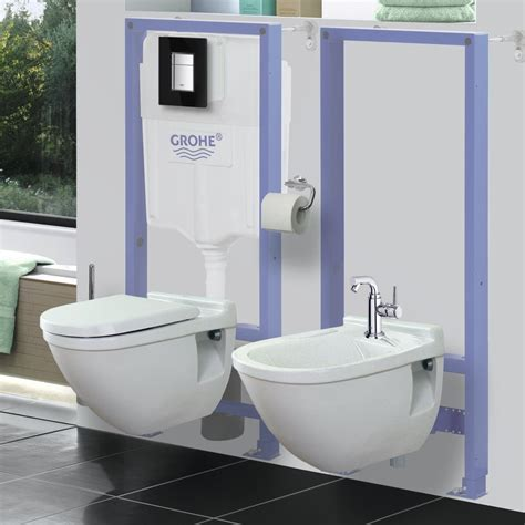 grohe bidet toilet grohe rapid sl concealed bidet frame with ideal standard