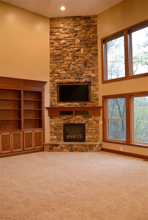 floor to ceiling corner fireplace fireplaces