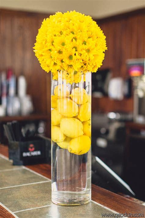 17 best ideas about lemon centerpiece wedding on