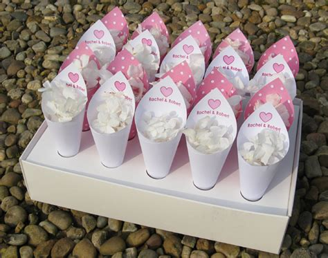 cesto porta coni di riso coni porta riso fai da te colorato di pink
