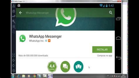 tutorial para instalar o whatsapp como baixar e instalar whatsapp no computador sem
