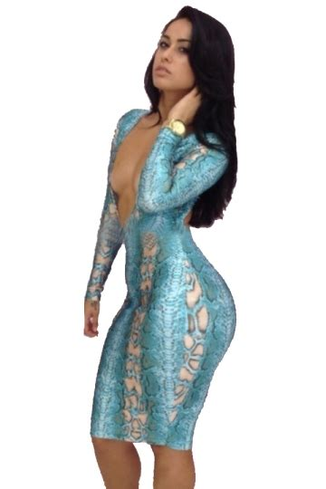 Dress Midi Gaun Bodycon Import Cut Size S 213969 blue womens low cut backless bodycon club midi dress pink