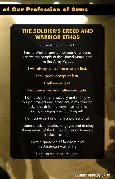 Warrior Ethos Essay by Warrior Ethos Army Www Pixshark Images Galleries With A Bite