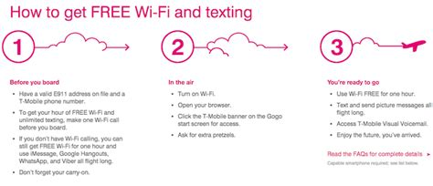 gogo tmobile t mobile customers will get free gogo wifi one mile at a