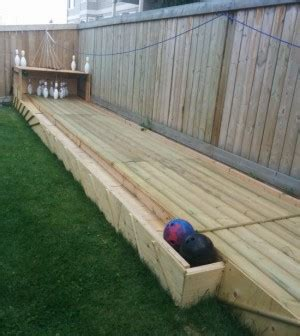 diy backyard bowling alley diy backyard bowling alley build a backyard bowling alley