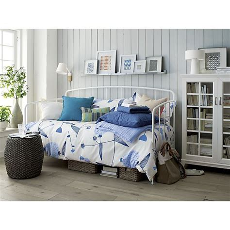 crate and barrel day bed rory daybed crate and barrel right side of the bed by