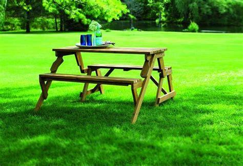 table smokehouse combo creative ideas diy folding bench and picnic table combo