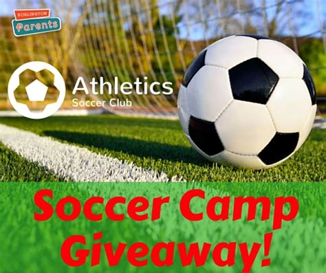 Soccer Giveaways - burlington parents blog burlingtonparents