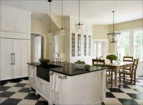 White Kitchen Floor Ideas by Kitchen Black And White Floor Tiles Linguine And Me
