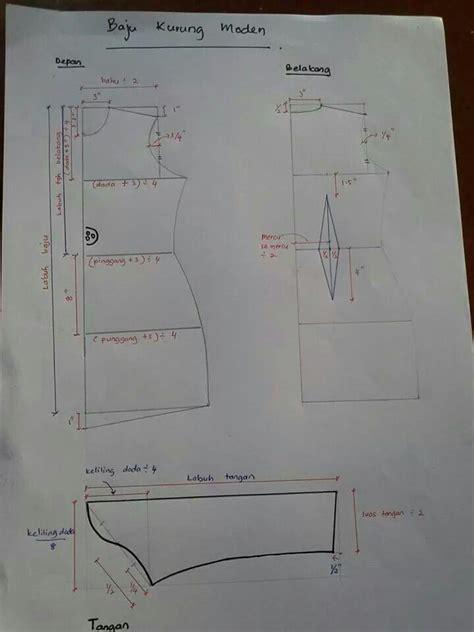 sewing pattern baju kurung kurung moden tudung dan telekung pinterest baju