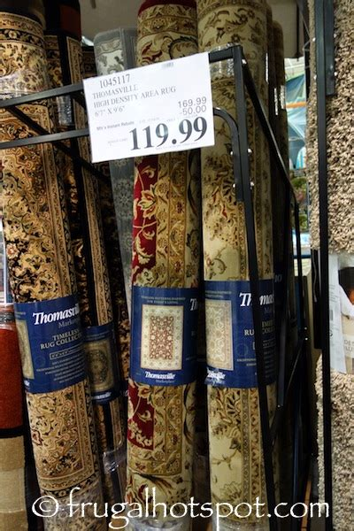 thomasville marketplace rugs costco sale thomasville area rug 6 6 quot x 9 6 quot 119 99 frugal hotspot
