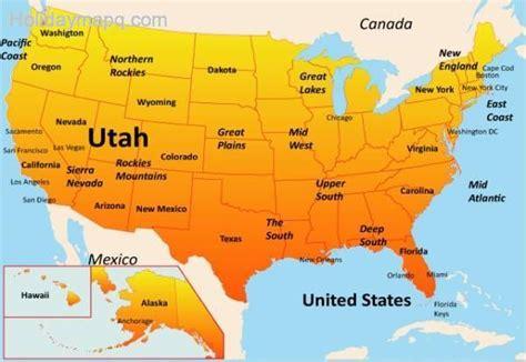 usa states map utah usa map utah map travel holidaymapq