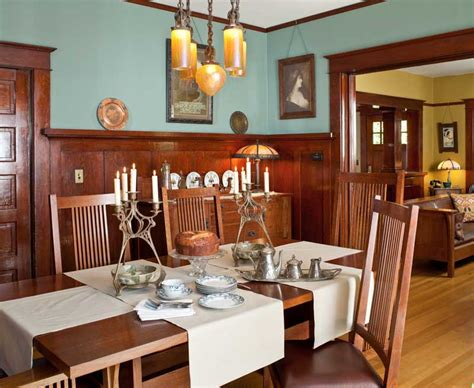 Arts And Crafts Dining Room | remake this room on ruby lane art and crafts dining