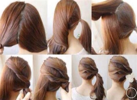 easy and beautiful hairstyles step by step beautiful and easy hair style step by step hair styles