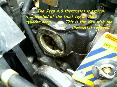 1998 Jeep Thermostat Jeep Grand Thermostat Location On Jeep Free