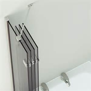 bath screens more than bath mirabella frameless bath shower screen hugo oliver