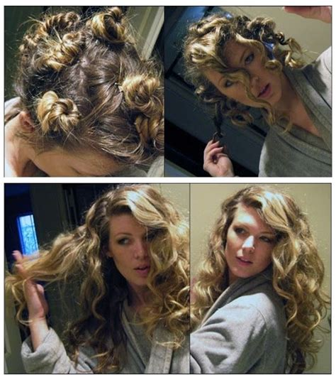 one way to naturally curl your hair this works but i