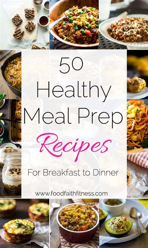 new year food preparation 50 meal prep ideas from breakfast to dinner food faith
