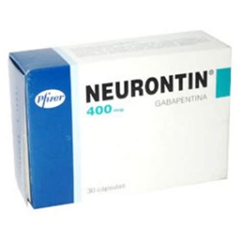 Gabapentin Detox by Neurontin 400 Mg 100 Tablets