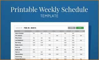 11 work schedule template cashier resume