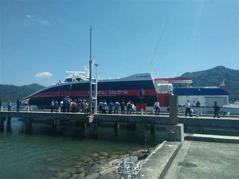 catamaran ferry service pal to launch catamaran ferry service from kalibo airport