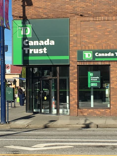 td bank branch locations td canada trust opening hours 6499 fraser