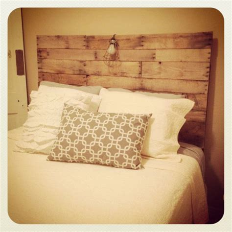 did headboard pallet headboard do it yourself pinterest pallet