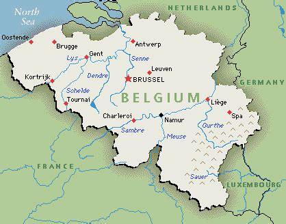 map of belgium belgium more than just tintin and chocolate
